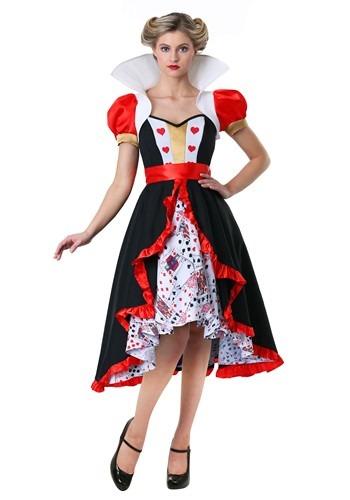 Women's Flirty Queen of Hearts Costume